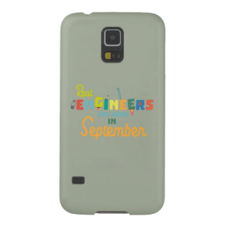 Engineers are born in September Zt500 Galaxy S5 Cover
