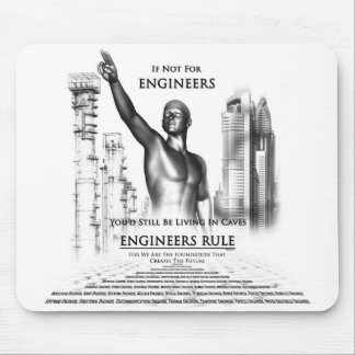 Engineers Rule Mouse Pad