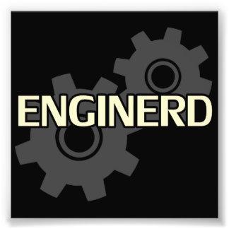 Enginerd Engineer Nerd Photographic Print