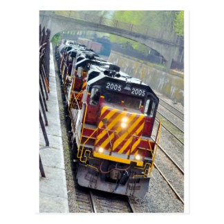 Engines in Action Postcard