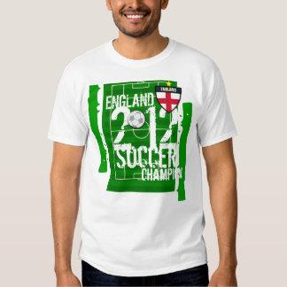 England 2012 Soccer Champion Tshirts