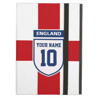 England Allegiance Fans - Customizable Name Number Case For iPad Air