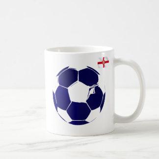 England blue soccer ball England flag gifts Mug