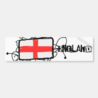 England Bumper Sticker