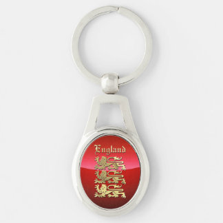 England - Coat of Arms Key Ring