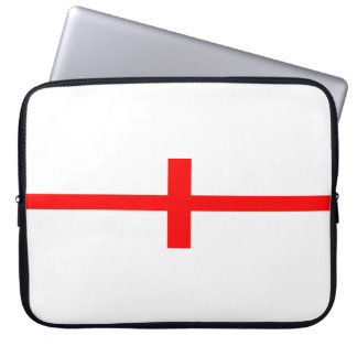 england country flag long symbol english name text laptop sleeve
