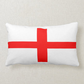 england country flag long symbol english name text lumbar cushion