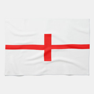 england country flag long symbol english name text tea towel