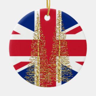England English British Flag Christmas Ornament