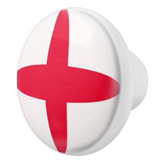 England English Flag Ceramic Knob