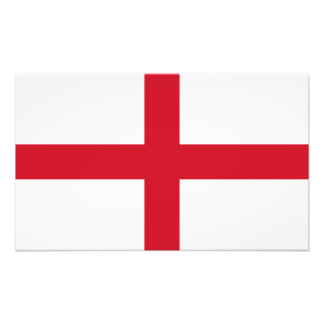 England – English National Flag Art Photo