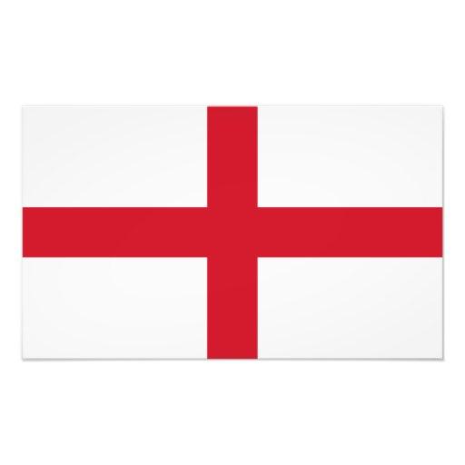 England – English National Flag Photo Art