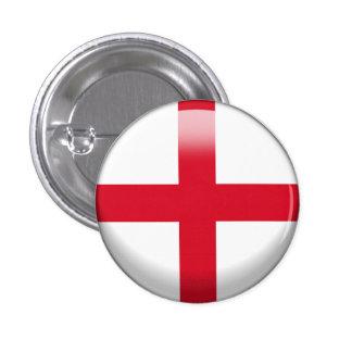 England Flag 3 Cm Round Badge