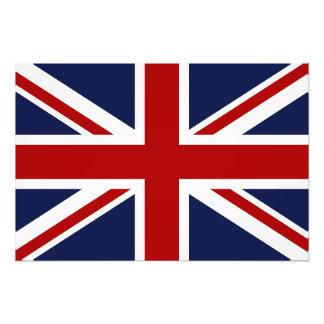 England Flag 3 Photographic Print