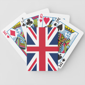 England flag bicycle playing cards