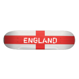 England Flag,Blinds texture St Georges Cross Skateboard