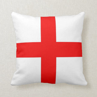 England Flag Cushion