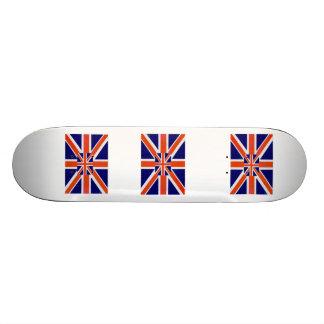 England Flag Custom Skateboard
