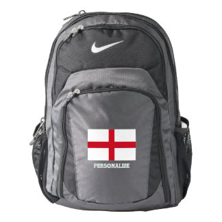 England flag English pride custom Nike backpack