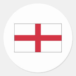 England FLAG International Round Sticker