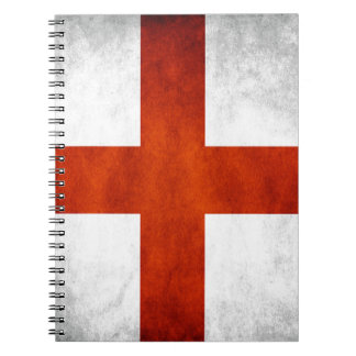 England flag notebook
