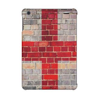 England flag on a brick wall iPad mini retina cover