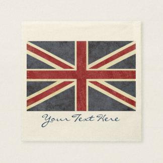 England Flag Party Napkins Disposable Napkins