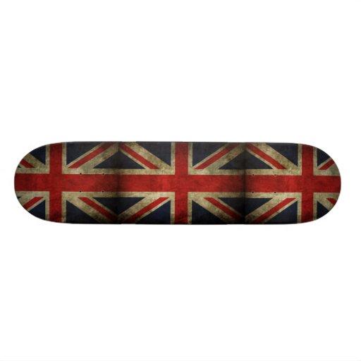 ENGLAND FLAG SKATE BOARD DECK