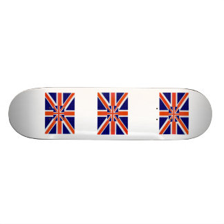 England Flag Skateboard