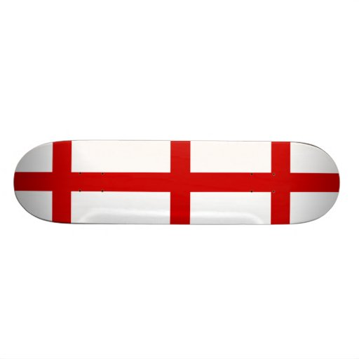 England Flag Skate Deck