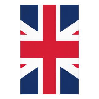 England flag stationery