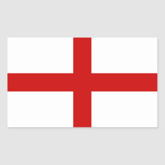 England Flag Rectangular Sticker