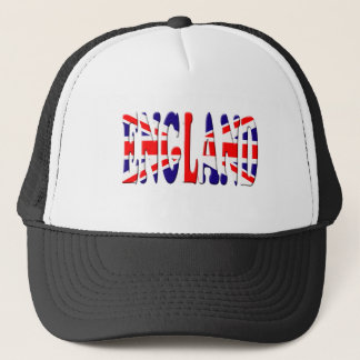 England Flag Trucker Hat
