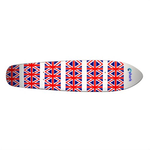 ENGLAND FLAGS SKATEBOARDS