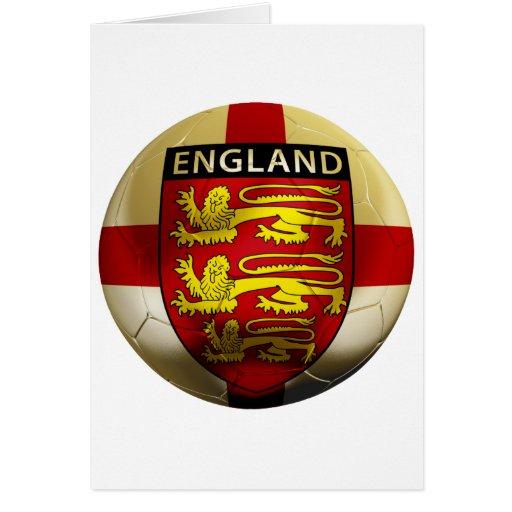 England Football Greeting Card