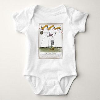 england football centre forward baby bodysuit
