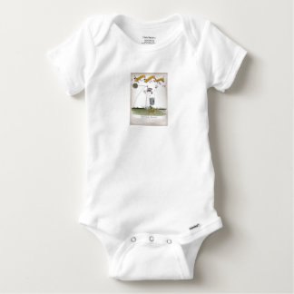 england football centre forward baby onesie