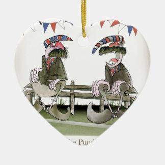 england football pundits ceramic ornament