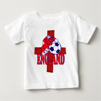 England football soccer bulldog Baby T-shirt
