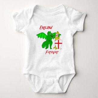 England Forever Baby Bodysuit