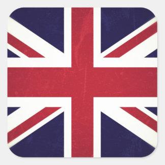 England Grunged Flag