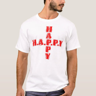England  H-A-P-P-Y T-Shirt