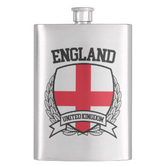 England Hip Flask