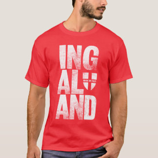 England Ingaland Red T-Shirt