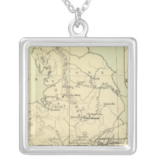 England, Ireland Silver Plated Necklace