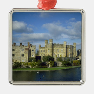 England, Kent, Leeds Castle Metal Ornament