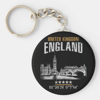 England Key Ring