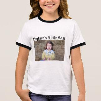 England Little Rose Ringer T-Shirt