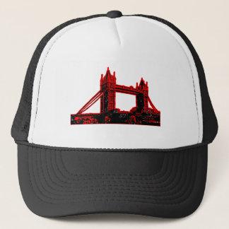 England London Bridge Red Black3 jGibne The MUSEUM Trucker Hat