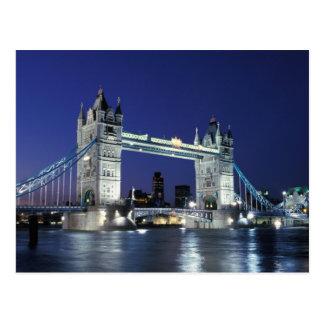 England, London, Tower Bridge 3 Postcard
